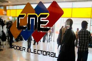 CNE venezolano rechaza