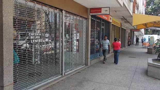Consecomercio: Más de 60 % de los establecimientos siguen cerrados