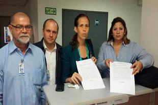 Diputados denunciaron a las rectoras del CNE en la Fiscalía