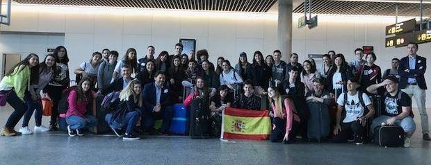 """Llegaron a Santiago los primeros jóvenes que participan del programa """"Conecta conGalicia"""""""