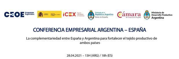 Este miércoles se realizará un importante encuentro empresarial entre Argentina y España