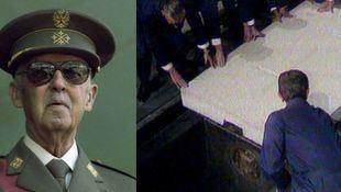 El Congreso español validó la exhumación de Franco