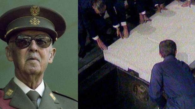 El Congreso español validó la exhumación de Franco, lo aplaude 2 minutos y PP y Cs guardan silencio