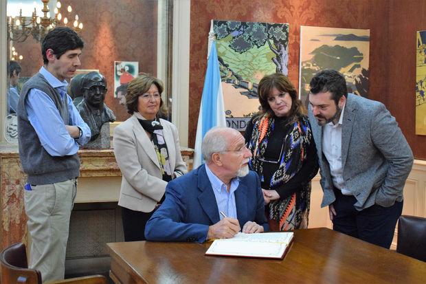 Mira Lema elogió la labor del Museo de la Emigración Gallega