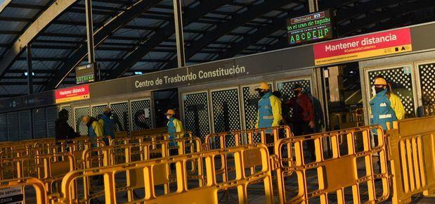 Ya funciona en la Ciudad el primer sistema de cámaras para tomar la temperatura de los pasajeros del transporte público