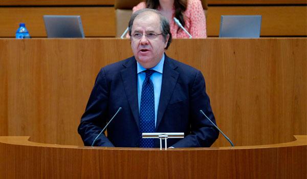 Herrera pide el respaldo del PSOE para consolidar pol�ticas de poblaci�n porque