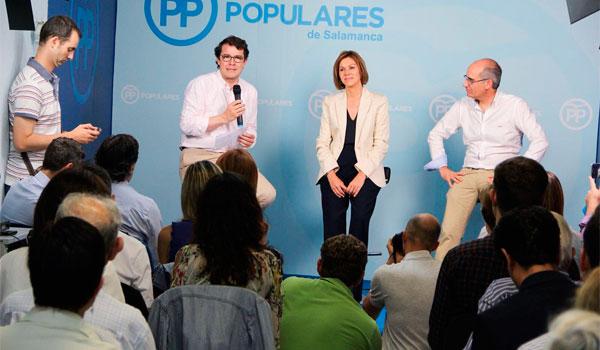 Cospedal: 'Prefiero estar en la oposición antes que ser presidenta como Sánchez'