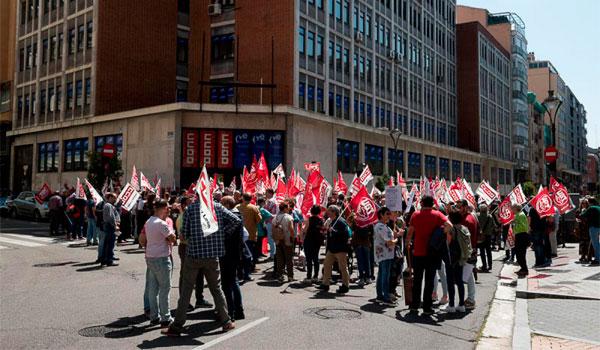 UGT y CCOO reclaman la implicación de la Junta y las Cortes para lograr mayores subidas salariales