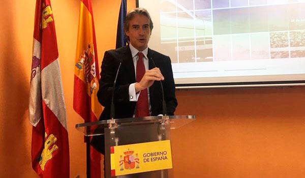 Las obras de la Alta Velocidad entre Burgos y Vitoria finalizarán en 2023, según De la Serna