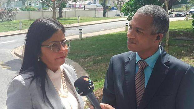 Canciller Rodríguez resaltó apoyo de la Caricom a Venezuela