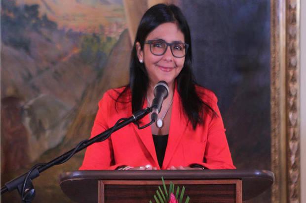 Delcy Rodríguez presidirá la Asamblea Nacional Constituyente
