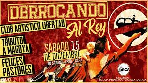 La agrupación García Lorca realiza un Festival contra la monarquía española