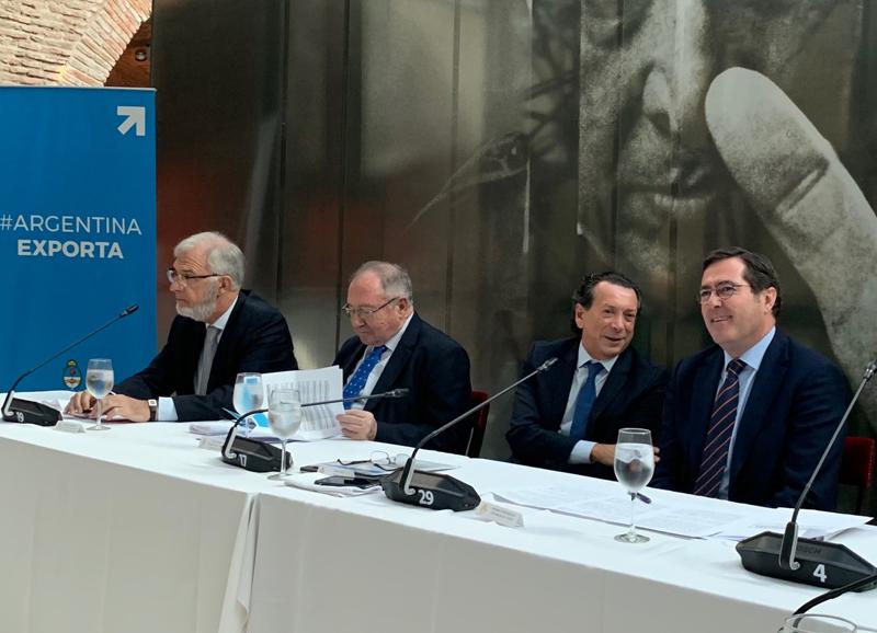 Garamendi y Bonet participaron de una reunión con el ministro Dante Sica