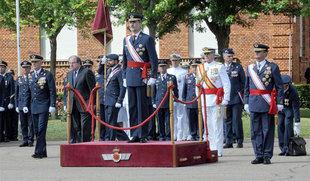 El Rey entrega los Reales Despachos a 227 nuevos sargentos de la XXVI Promoción de la Academia del Aire