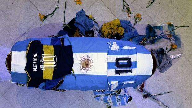 Conmovedora despedida de todo un país a Diego Armando Maradona