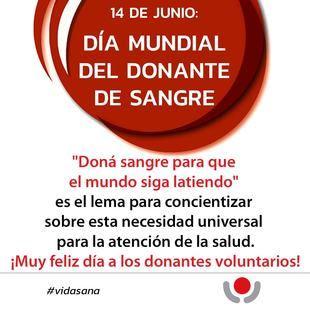 Ospaña concientiza en el Día Mundial del Donante de Sangre