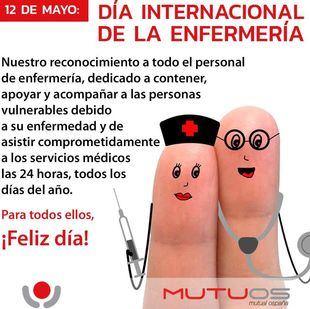 Ospaña recuerda con un saludo muy especial el Día de la Enfermería