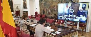 """Ministros iberoamericanos mantuvieron """"Diálogos para vencer al COVID-19"""""""