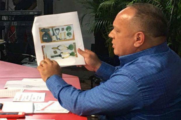 Cabello afirma que la oposición importa material para reanudar protestas