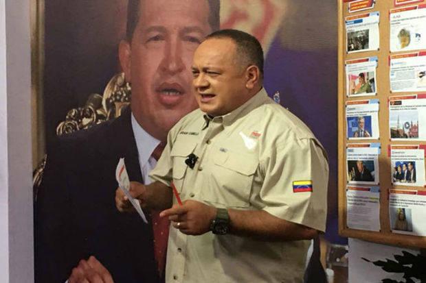 Diosdado Cabello criticó que la oposición haya decidido no participar en el proceso de diálogo
