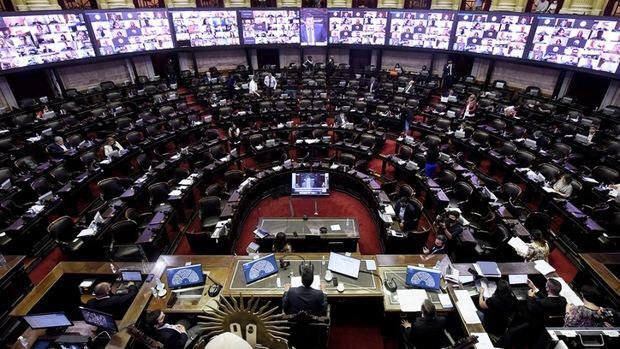 La Cámara de Diputados aprobó y envió al Senado el proyecto de Ley de Aporte Solidario y Extraordinario