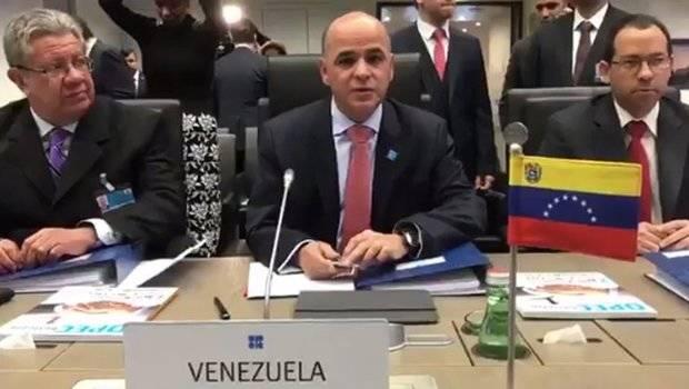 Venezuela denuncia en OPEP 'sabotaje' petrolero y amenaza con dejar de vender bruto a EEUU
