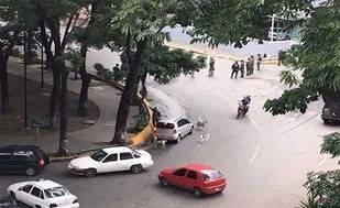 GNB reprime en la plaza Madariaga de El Paraíso este miércoles