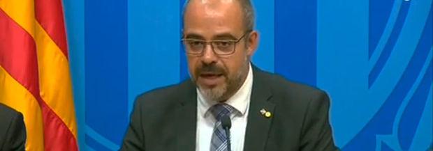"""El Govern rechaza la violencia de grupos radicales y advierte: """"La Policía actuará"""""""