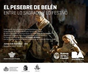 """Llega """"El pesebre de Belén. Entre lo sagrado y lo festivo"""""""