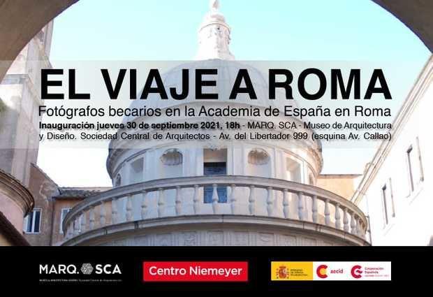 """Llega la exposición """"El viaje a Roma"""", una imperdible colección de fotógrafos españoles"""