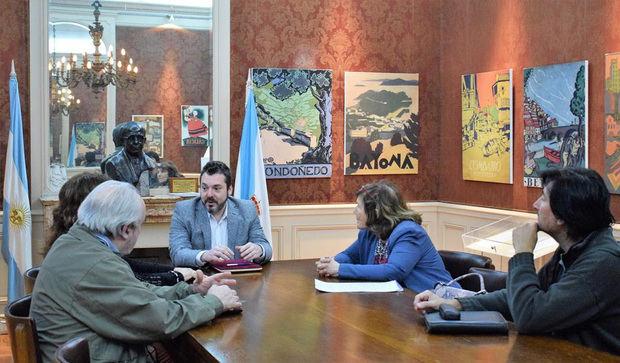 La Federación de Sociedades Gallegas colabora en un proyecto de catalogación y conservación de la obra de Luis Seoane en Buenos Aires