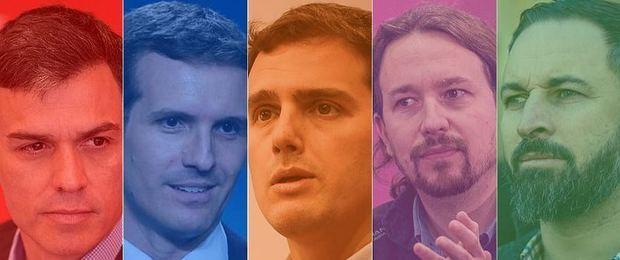 Empate entre los bloques de izquierda y derecha en las elecciones del 28-A