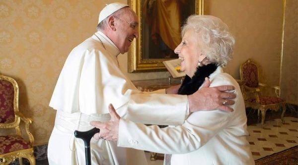 Carlotto contó que el Papa Francisco está muy preocupado por Argentina