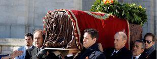 Paso a paso de la histórica exhumación de Franco