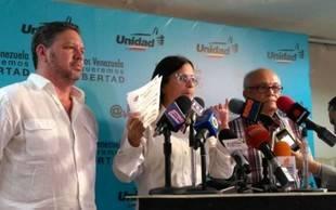 MUD denunció irregularidades por el CNE para las elecciones regionales