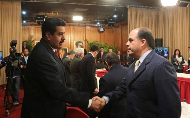 """Maduro a Julio Borges: """"Te espero en Miraflores, yo soy el que va a firmar el acuerdo"""""""
