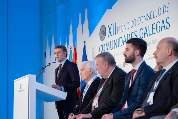 Feijóo anunció que los planes de estudios de primaria y secundaria incluirán la importancia de la emigración en la historia de Galicia