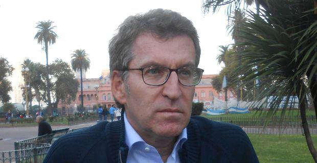 Feijoo pidió preservar las obras culturales del Centro Gallego