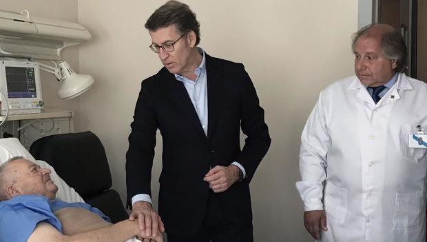 Feijoo manifestó en Uruguay el compromiso de la Xunta con los gallegos en el exterior