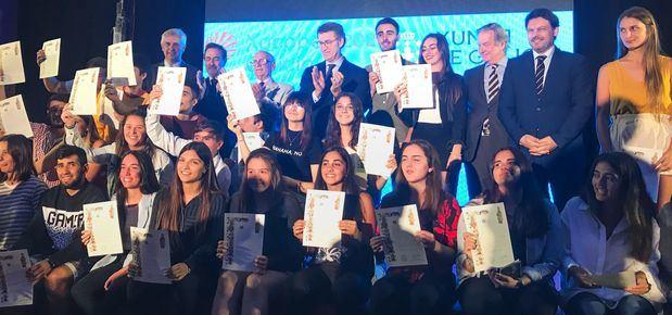 Feijóo anunció la extensión del carnet joven para los jóvenes de la diáspora que podrán beneficiarse de sus ventajas en Galicia, España y Europa