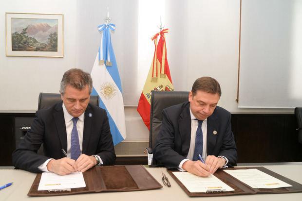 Argentina y España firmaron el Memorando de Entendimiento para la Cooperación Bilateral en materia de Pesca y Acuicultura