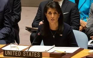 Nikki Haley sostuvo que hay posibilidades de un embargo petrolero a Venezuela