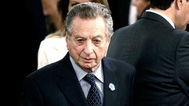 El presidente le brindó el último adiós a su padre Franco Macri