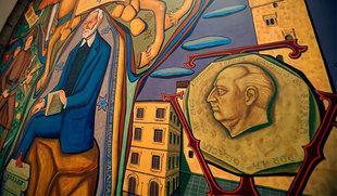 El TSJCyL pide la retirada de la imagen de Franco del Salón de Plenos del Ayuntamiento de Salamanca