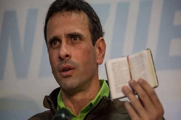 Capriles asegura Gobierno activó grupos paramilitares en contra de protestas