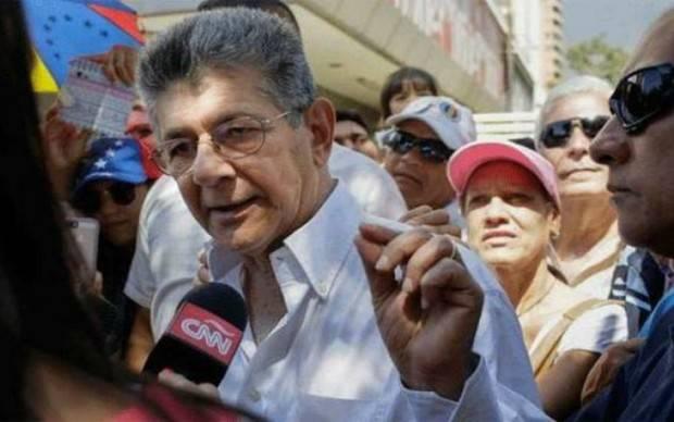 Ramos Allup afirma que crisis en la MUD venía desde hace tiempo
