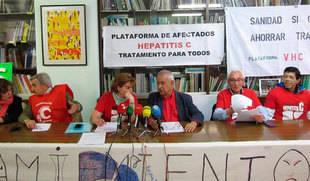 Afectados por la Hepatitis C denuncian a la Junta por lesiones y omisión del deber de socorro al no tratar a todos