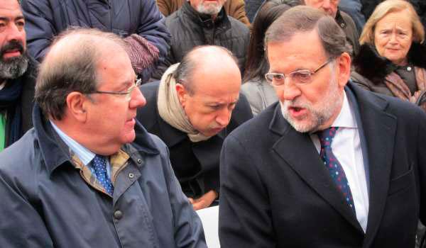 Herrera exige a Rajoy la conexión por AVE con el País Vasco y la rehabilitación de la línea Burgos-Madrid