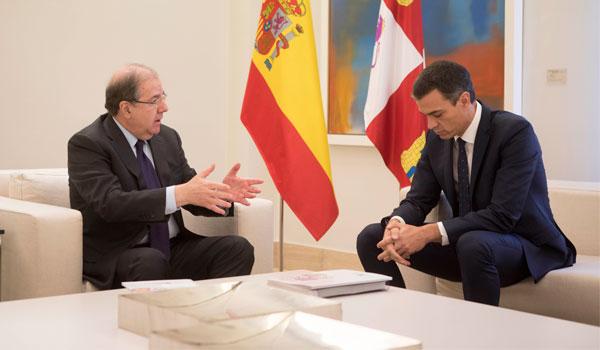 """Herrera, tras su reunión con Sánchez: """"Se abre un tiempo nuevo"""""""