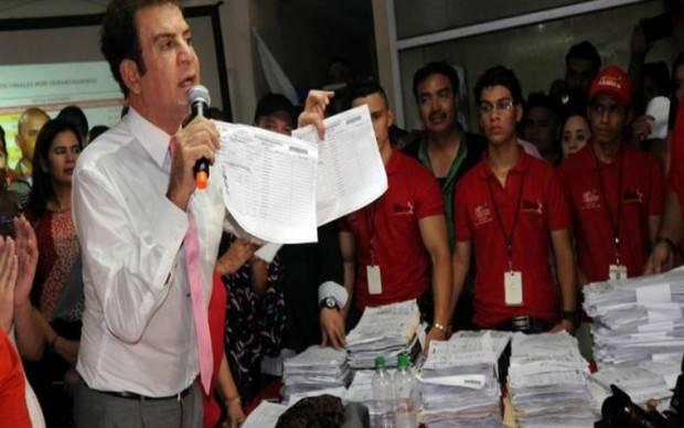 Nasralla retira compromiso ante OEA de reconocer resultado electoral en Honduras